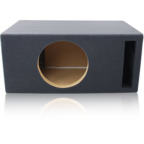 2.0 Cu. Ft. Ported / Vented MDF Sub Woofer Enclosure for Single 12'' Car Subwoofer (2.0 ft^3 @ 32Hz) Made in U.S.A. by MSW Enclosures (Image #4)