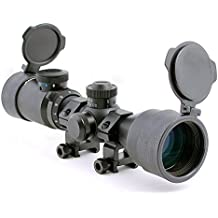 Hammers Illuminated Riflescope Compact Short Rifle Scope BDC 3-9x42GDT w/ weaver Rings