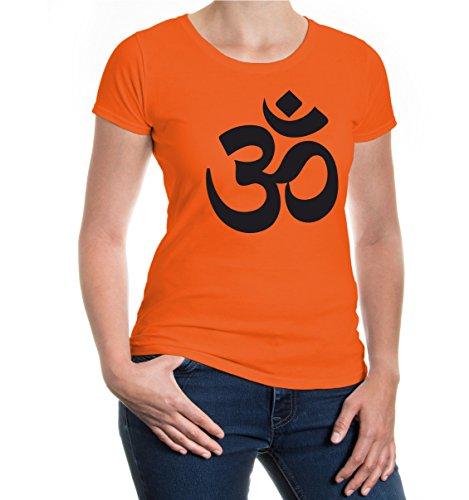 Girlie T-Shirt Om-Character Orange