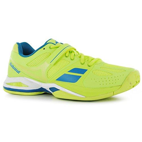 Sportive Di Donna Tutti Spinge Giallo Di Scarpe Sneakers Scarpe Da Colore Tennis Campo Da Babolat ZUCOCq