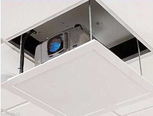 1m Electric Projector Bracket Motorized Projector Lift hanger Ceiling Mount Bracket For Cinema school (220V) by BAOSHISHAN (Image #6)