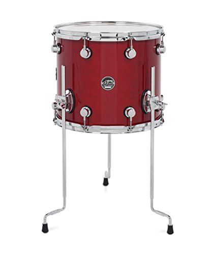DW Performance Series Floor Tom - 12x14 - Candy Apple (12 X 14 Floor Tom)
