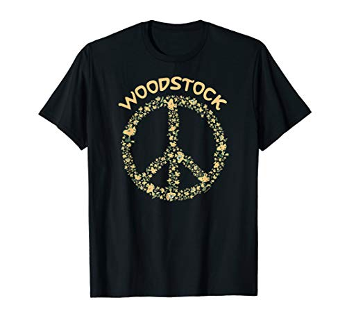 Peanuts Woodstock 50th Anniversary Peace Sign ()