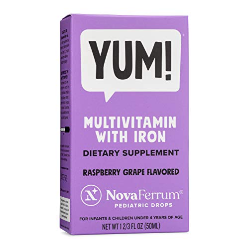 NovaFerrum Multivitamin with Iron Supplement for Infants and Toddlers 50 mL (Best Medicine For Anemia)