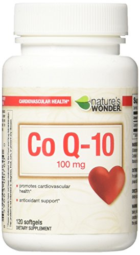 Nature's Wonder COQ10 100mg Nutritional Supplement, 120 Count