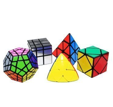 Chntoys cube ShengShou Special Cube Sets (Pack of 5) by ALMA