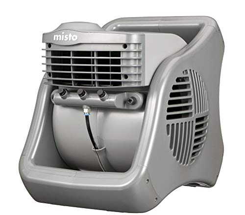 Lasko 7050 Misto Outdoor Misting Fan – Features Cooling Misters, Ideal for Camping, Patios, Picnics, & more