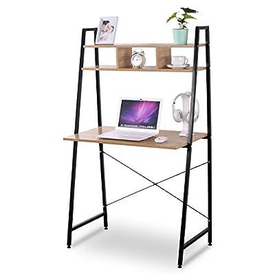 WOLTU Computer Desk Bookshelves Compact Home Notebook Desk Large from WOLTU