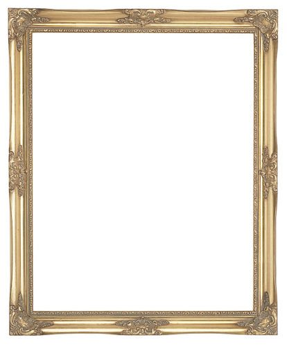Paintings Frames Ornate Wood French Style Swept Vintage Pict
