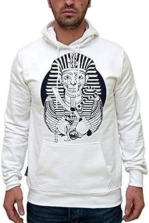 Printed Hmws001684 Tut Zombie Hoodie For Men Xlarge