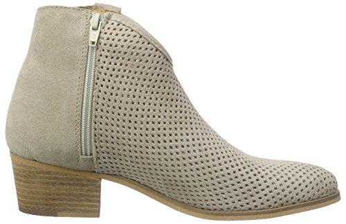 Mujer Es Papyrus Buffalo Suede Beige Suede Botines 03 London Chapa Beige 30684 0x05rXvqw