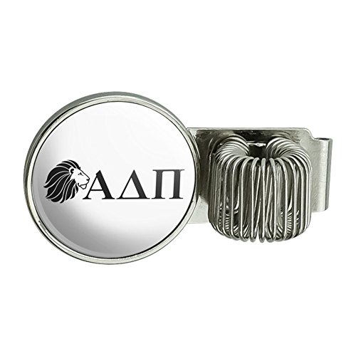 Alpha Delta Pi Sorority Lion Greek Letters Black Officially Licensed Pen Holder Clip Accessory for Planner Journal Appointment Book Diary Notebook ()