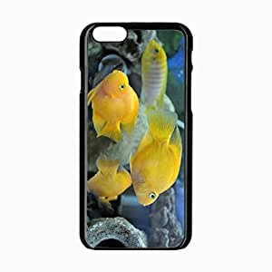 iPhone 6 Black Hardshell Case 4.7inch fish underwater swim Desin Images Protector Back Cover