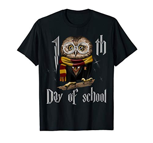 100th day of school owl Tshirt gift for teacher student -