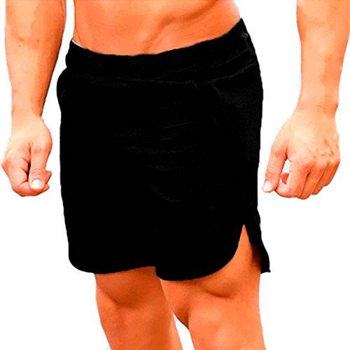 Corsa Bodybuilding Fitness Di Degli Da Palestre Pantaloncini Sport Nero Traspirante Cinque Polpaccio Allentati Mengonee Scarsità Pantaloni Uomini SzBwq8H6x