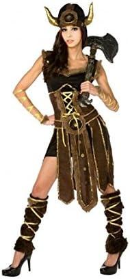 Disfraz Vikinga mujer adulto para Carnaval (M): Amazon.es ...