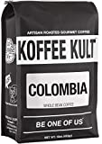 Koffee Kult Colombian Coffee Beans Huila – Highest Quality – Whole Bean Coffee Beans Medium Roasted – Fresh Roasted Roasted Colombian (80oz) Review
