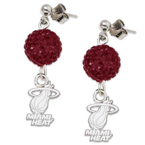NBA Miami Heat LogoArt Ovation Earrings