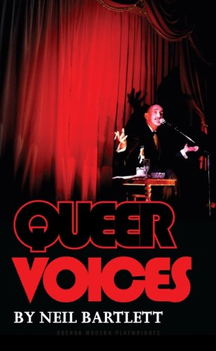 book cover of Queer Voices