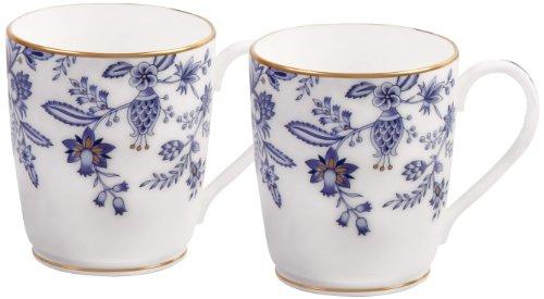 - Noritake Sorrentino Mug, Blue, Set of 2