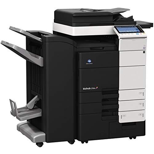 Konica Minolta Bizhub C654e Copier Printer Scanner Network with Staple Finisher -