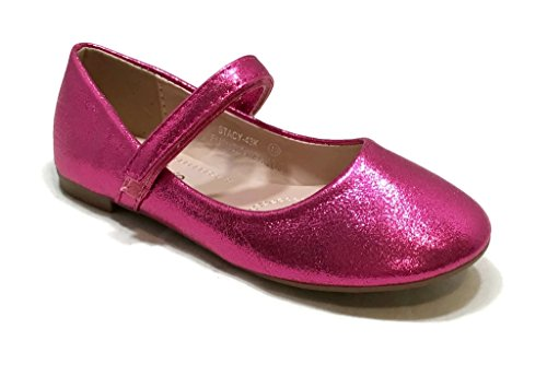 BellaMarie Shimmer Dress Ballet Flats
