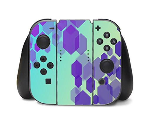 Retro Shape Design Artwork Nintendo Switch Controller Vinyl Decal Sticker Skin by Moonlight Printing