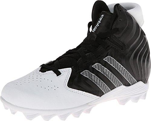 Adidas Filthyquick Md J Niños Pequeños Negro / Platino / Blanco