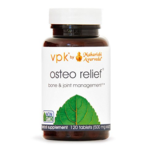Osteo Relief | 120 Herbal Tablets – 500 mg ea. | Natural Remedy for Healthy Joints & Bones | Promotes Flexibility | Source of Calcium for Bone & Cartilage Health