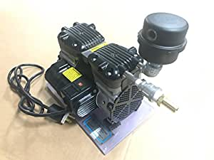 1/2 Horse Power Oil-less Aeration Compressor & Accessories