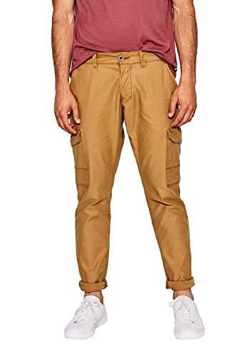 edc by Esprit, Pantalones para Hombre Marrón (Camel 230)
