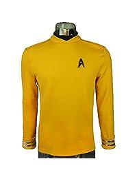 BFJ Star Trek Beyond Sulu Kirk Commander luxury Cosplay Shirt Uniform Costume
