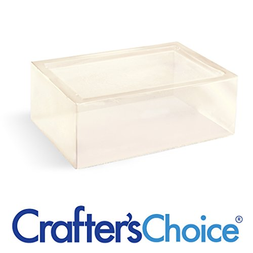 Detergent Free Clear Low Sweat Melt & Pour Soap Base - Crafters Choice MP Soap Base Detergent Base