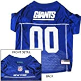 New York Giants Dog Pet Jersey Shirt Officially Licensed NFL Extra Large Size Extra Large XL