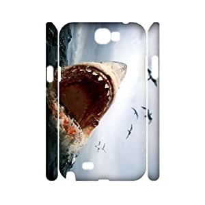 ANCASE Deep Sea Shark Customized Hard 3D Case For Samsung Galaxy Note 2 N7100