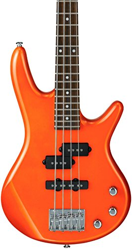 Ibanez GSRM20 Mikro Short-Scale Bass Guitar Roadster Orange Metallic - Orange Bass Guitar