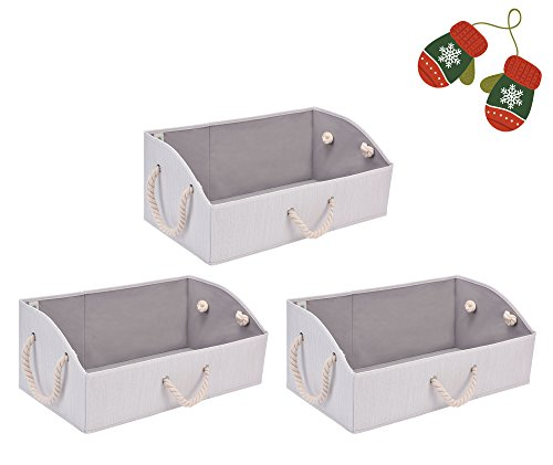 Fabric Storage Baskets 3-Pack