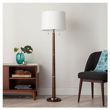 Amazon franklin floor lamp ebony threshold home kitchen franklin floor lamp ebony threshold mozeypictures Gallery