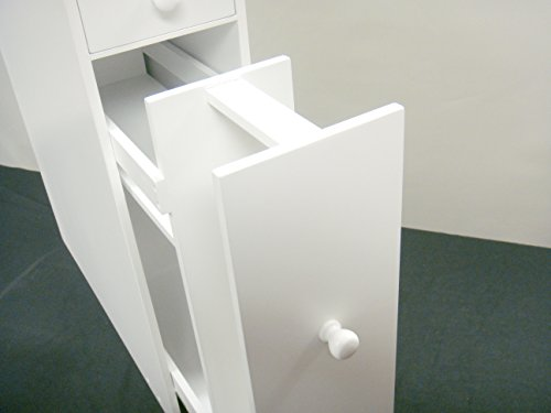Proman Products Bathroom Floor Cabinet Wood in Pure White by Proman Products (Image #10)