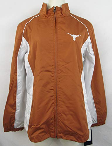 G-III Sports Texas Longhorns Womens Size X-Large Full Zip Embroidered Windbreaker Jacket A1 1142