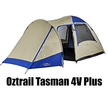 Oztrail Tasman 4V Plus Dome Tent (Sleeps 5  sc 1 st  Amazon.com.au & Oztrail Tasman 4V Plus Dome Tent (Sleeps 5: Amazon.com.au: Sports ...