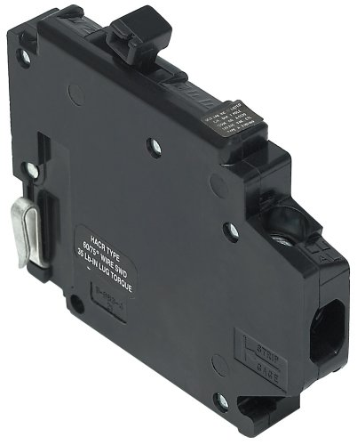 Circuit Breaker Clip (UBITBA115L-New Challenger MH115-L Type A Replacement.  One Pole 15 Amp Left Clip Circuit Breaker Manufactured by Connecticut Electric.)