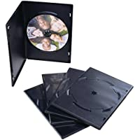 1 - DVD Video Trimcases, 50 pk, Protects DVD & CD collections against scratches & breakage, Stores twice the media in a video library, 95094
