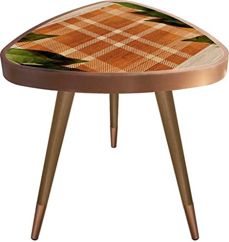 VHD Orange Design Triangle Side Table End Table Accent Coffee Table Sofa Table Small Tables