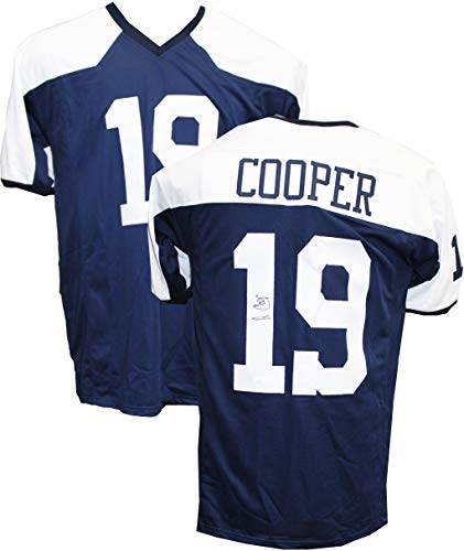 cd02df24a83 Dallas Cowboys Autographed Jerseys. Authentic Amari Cooper Autographed  Signed Custom Thanksgiving Day Jersey JSA ...