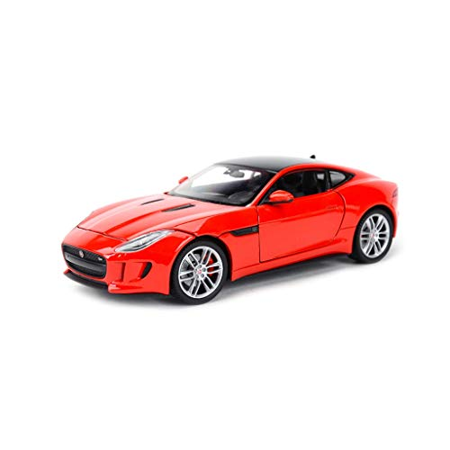 LIUFS Die Casting Model Jaguar F-Type Car Model Alloy Toy Car Sports Car Model Collection 1/24 Birthday Gift (Color : Red)