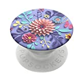 PopSockets PopGrip: Swappable Grip for Phones & Tablets - Craft Flowers