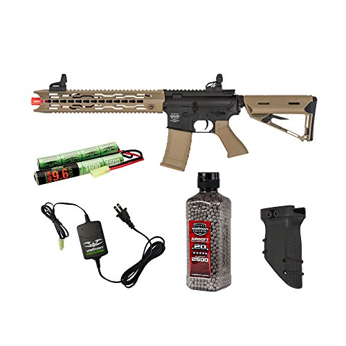 Valken Tactical Battle Machine Trg-M Covert Ops Airsoft Rifle Package by Valken Tactical