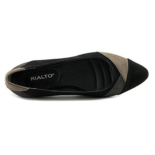 Black Rialto 'AUTUMN' Suedette Women's Flat qZtZ7w