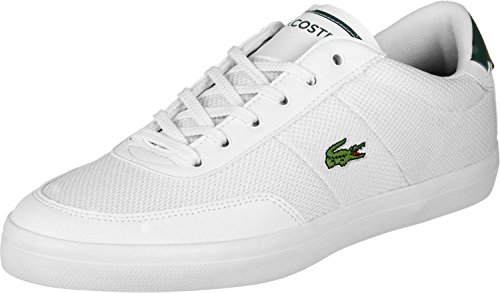 Lacoste Court Master 118 3 Cam White Dark Green White Dark Green
